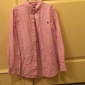 Great condition plaid button down